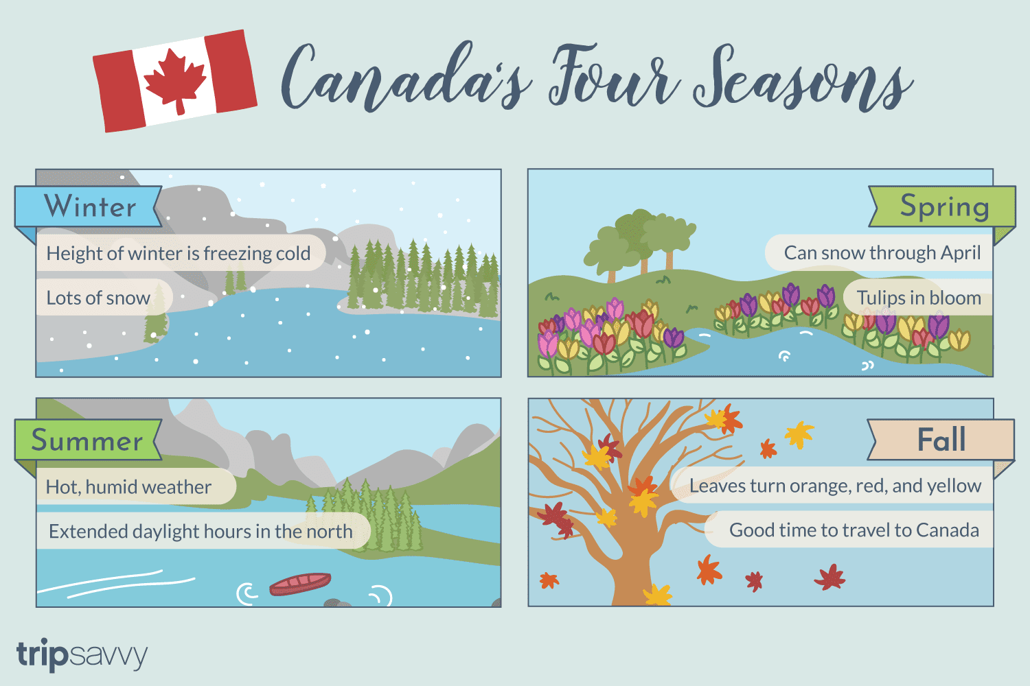 Introduction To Canada S Four Seasons