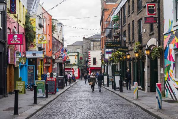 Dublin's Temple Bar District