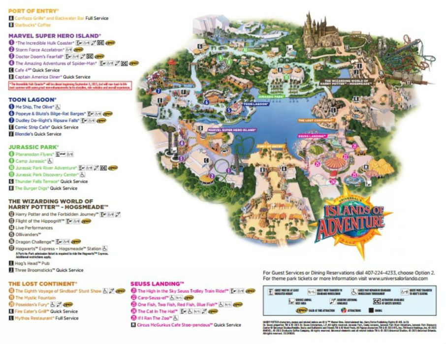 Image result for island of adventure map
