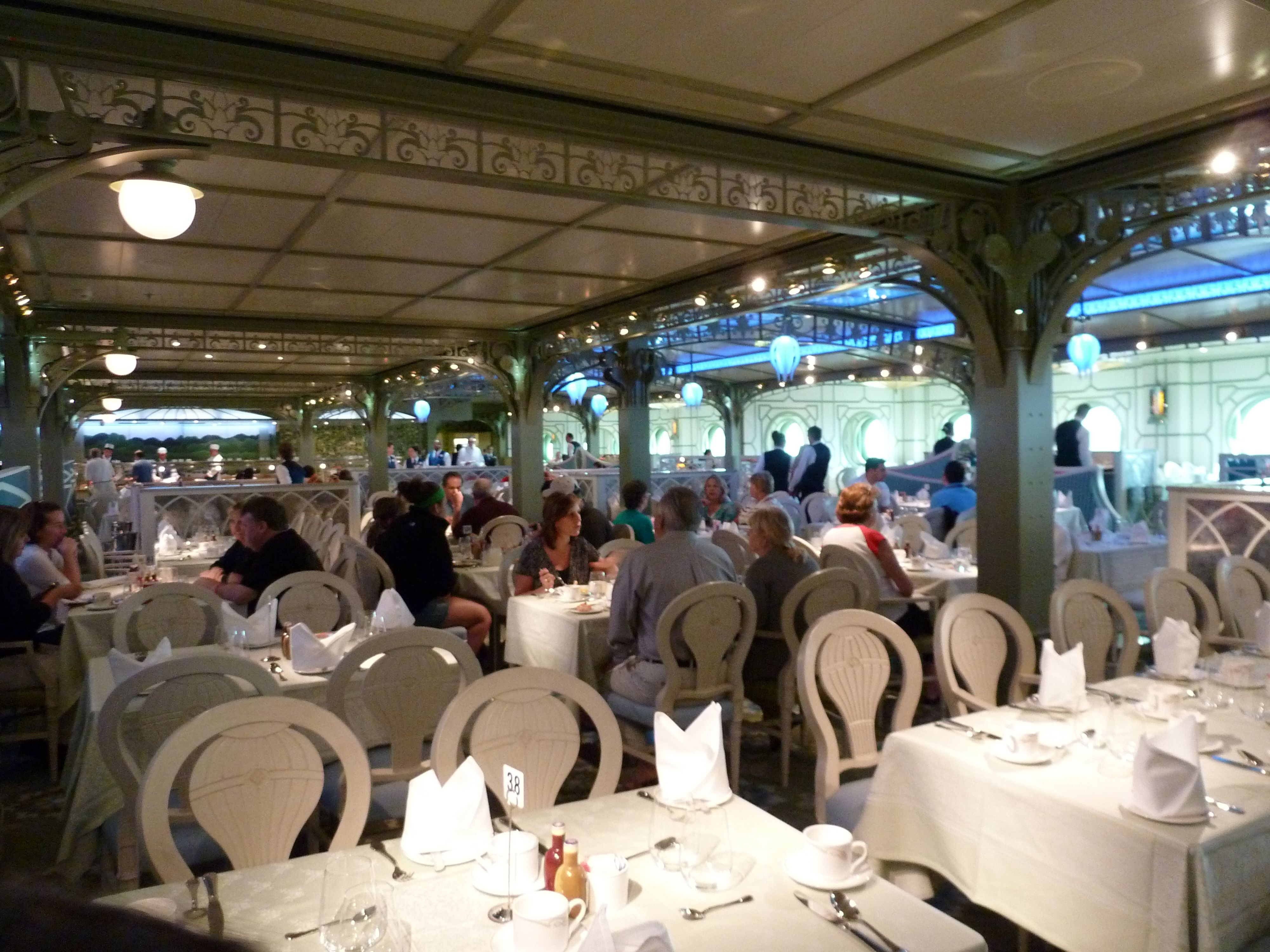 Dining Options Aboard The Disney Dream Cruise Ship