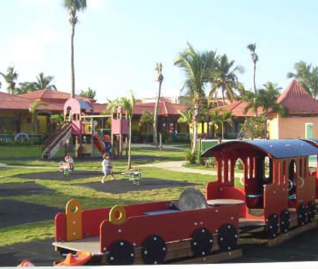 Club Med Punta Cana Huge Playground For Tots