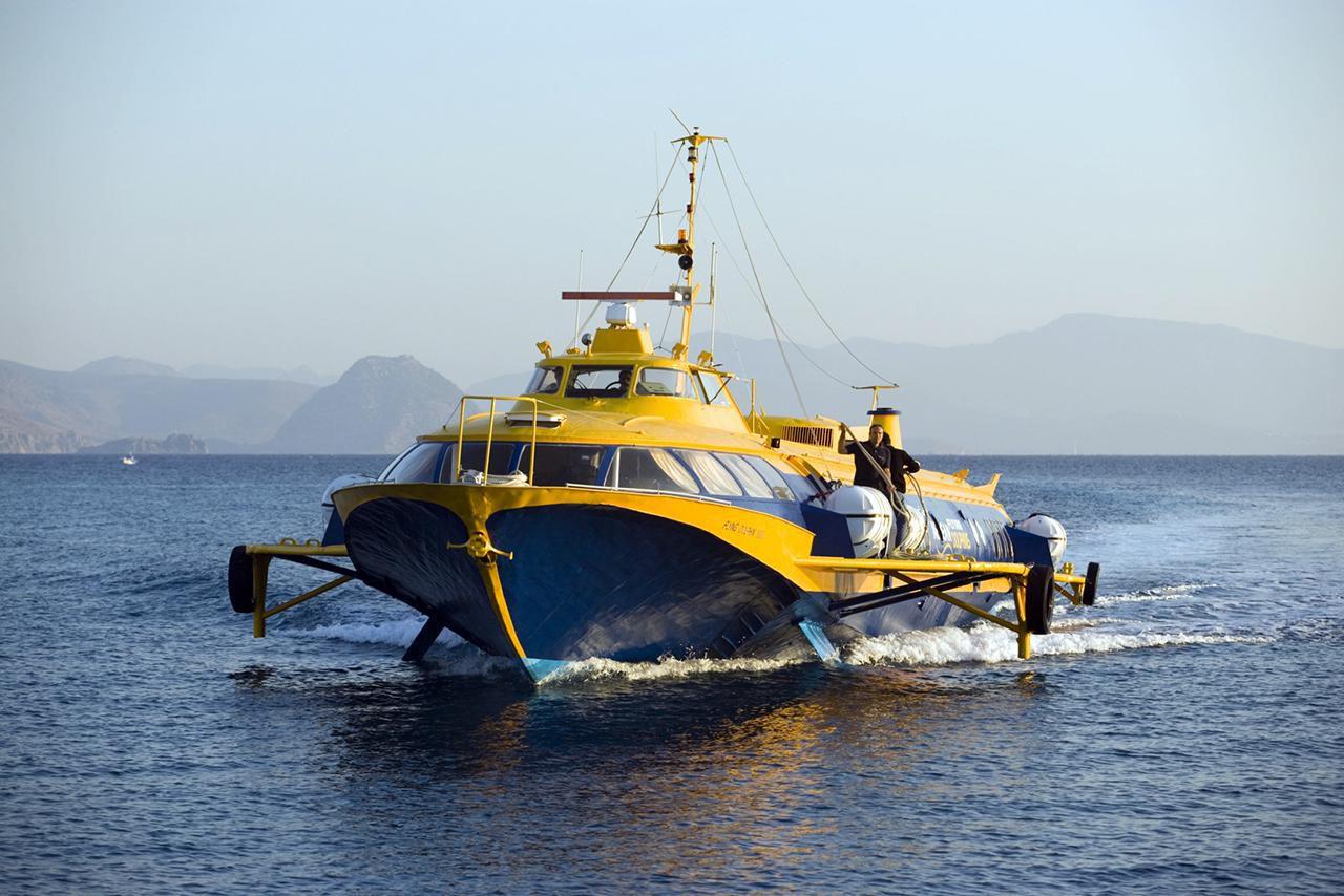 Greek Island Hopping By Hydrofoil