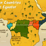 Which African Countries Are Located On The Equator