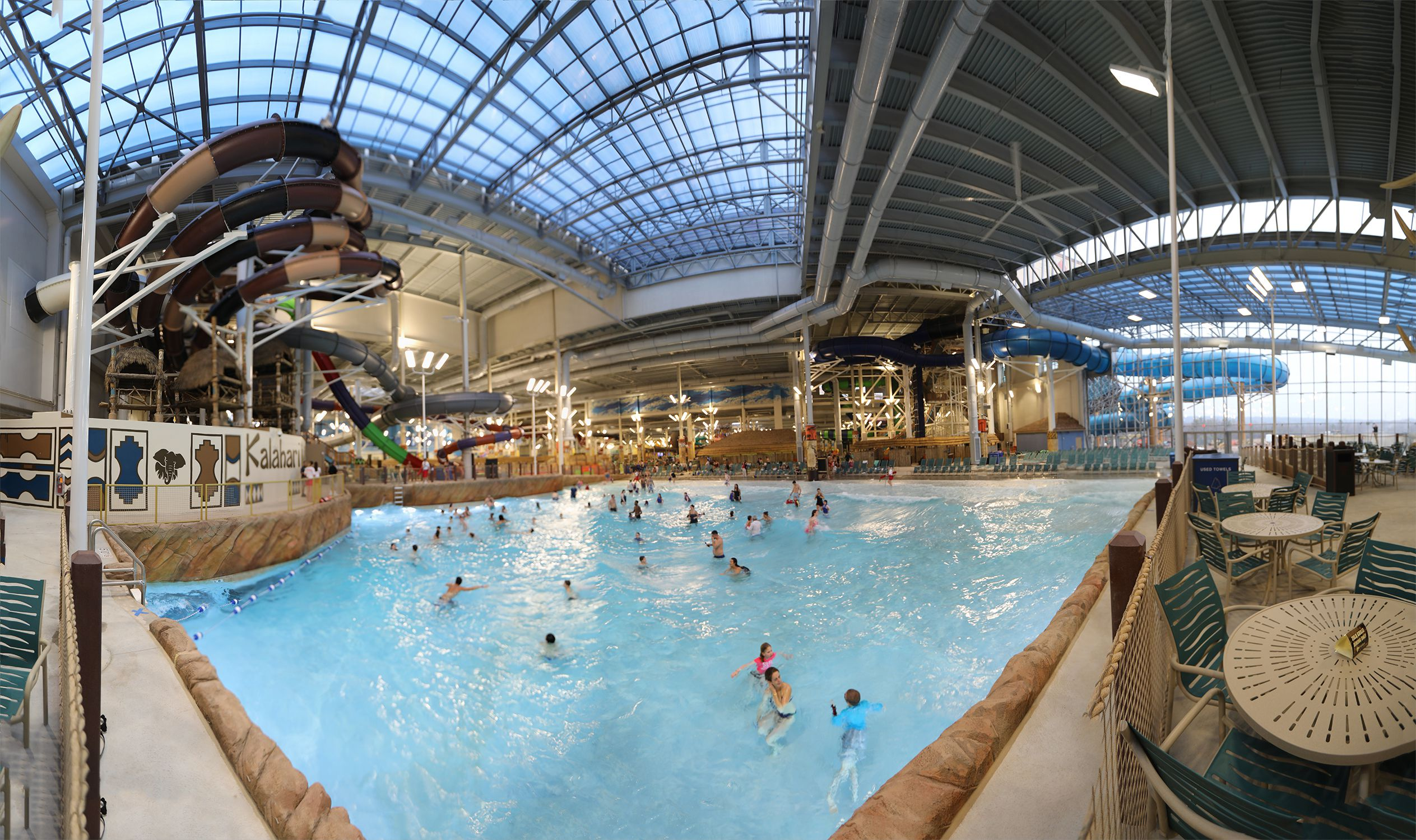 Kalahari Pocono Mountains Indoor Water Park Resort
