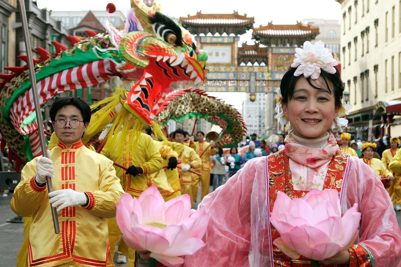 Washington D C Chinese New Year Parade