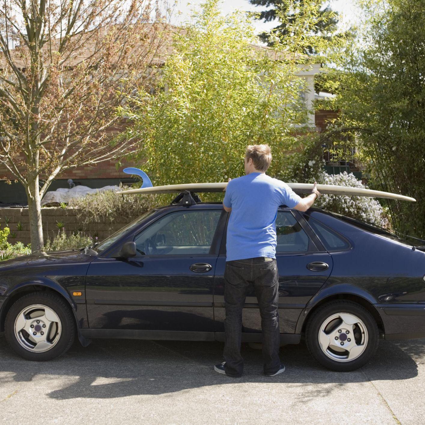 surfboard on my car racks