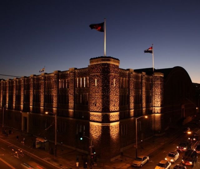 Kink Com Is Housed In A Massive Historic Armory In The Mission District