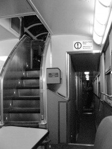 Via rail art deco train