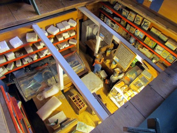 General Store Miniature Model at the Heritage Models Museum