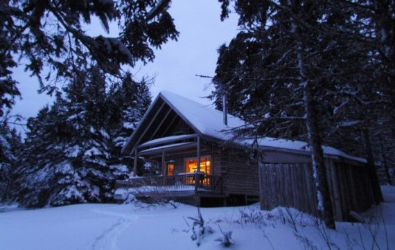 The Spruce Cabin at the Big Hill Retreat near Baddeck on Cape Breton Island is one of our favorite getaways. The peace and calm of the secluded cabin during the Christmas Holidays was amazing!