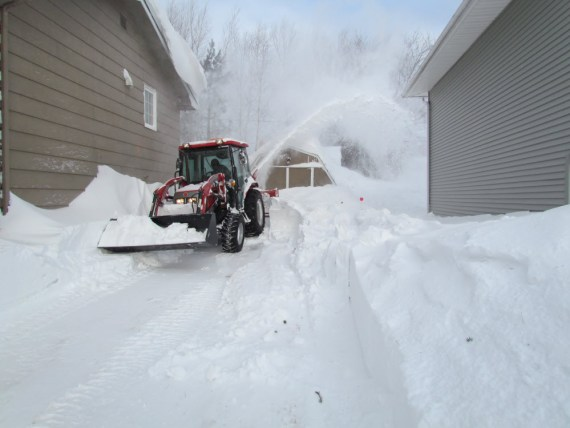 This year we decided to pay for snow removal and this one snow event made this the best investment ever!