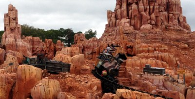 As the Mine Train goes by all you hear is screams of delight! The scenery is awesome!