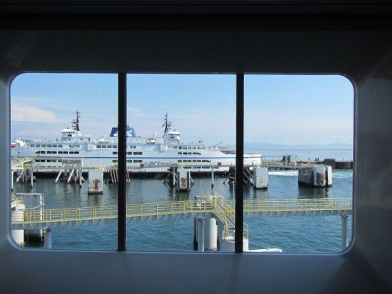 On our way to Victoria, British Columbia on BC Ferries