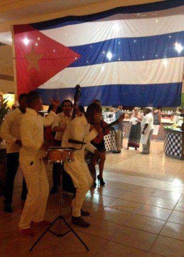 On some nights there was some traditional Cuban music played live and it added a great atmosphere to the supper hours!