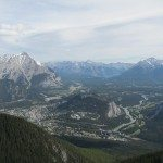 Banff View from Sulphur Mountain