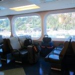 Suitcases On The Ferry
