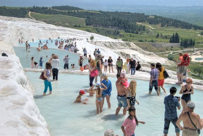 The Things to Do in Beautiful Pamukkale and Ancient Hierapolis