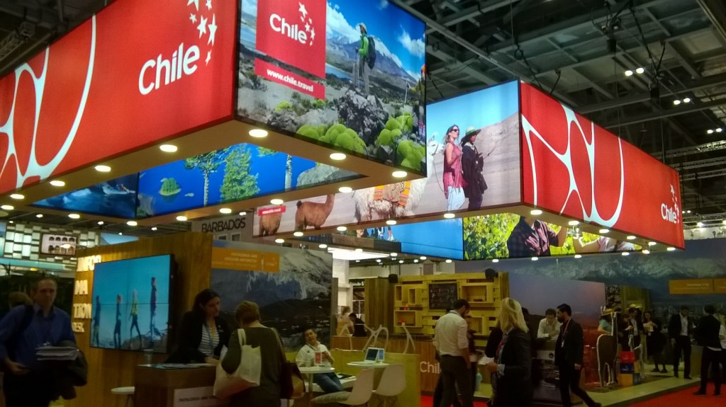Chile Stand at World Travel Market 2015