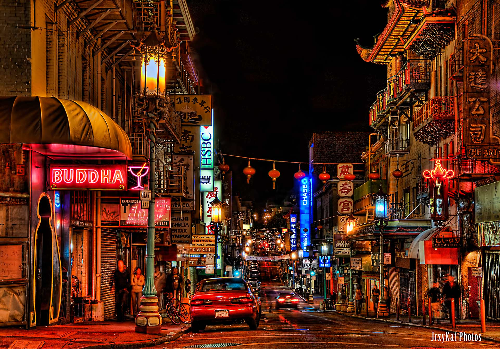 San Franciscon Chinatown. Kuva: KatVitulano Photos, Flickr.com, CC 2.0.