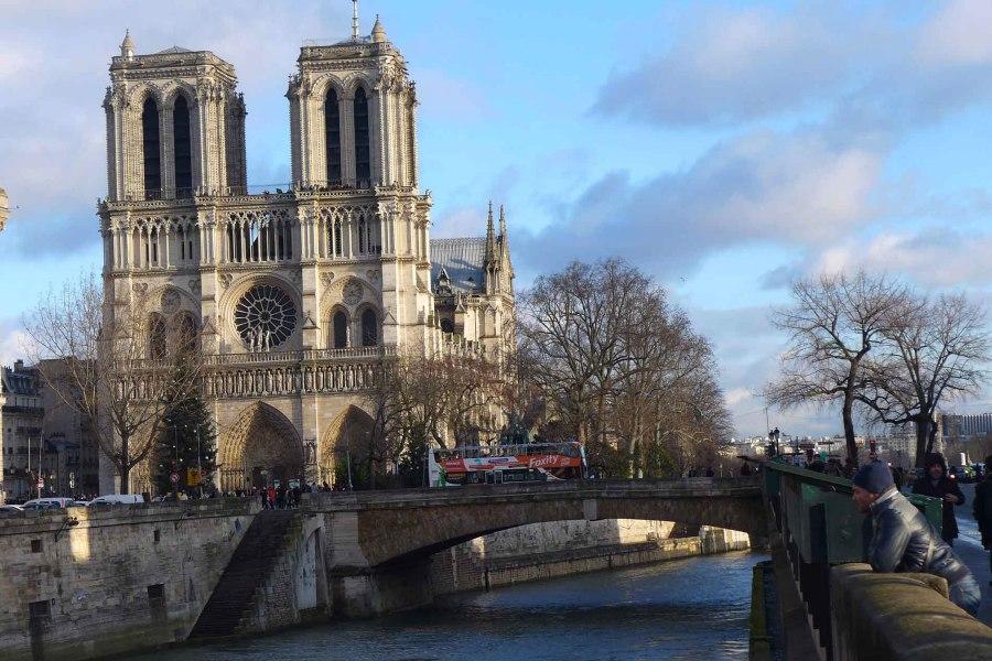 Notre Damen katedraali Pariisissa. © Tripsteri / Anneli Airaksinen