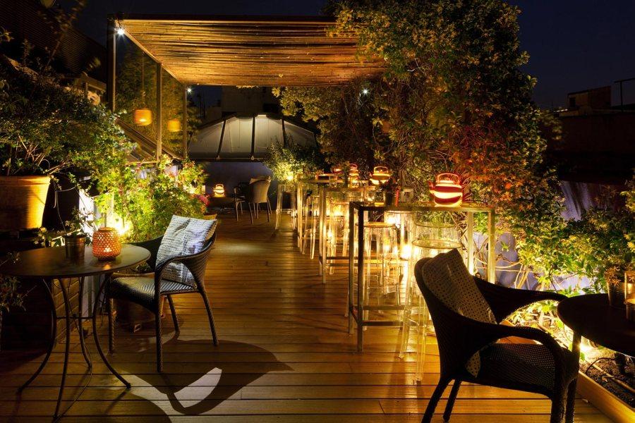 Roba Estesa -kattoterassi © Hotel Neri