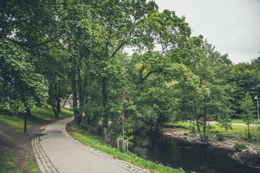 Oslon läpi kulkee Akerselva-joki. © Joakim Mangen