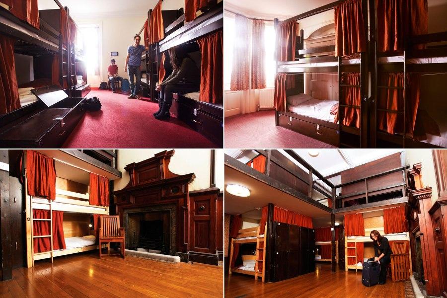 Palmers Lodge Swiss Cottage – eri kokoisia huoneita ©  Palmers Lodge Hostels