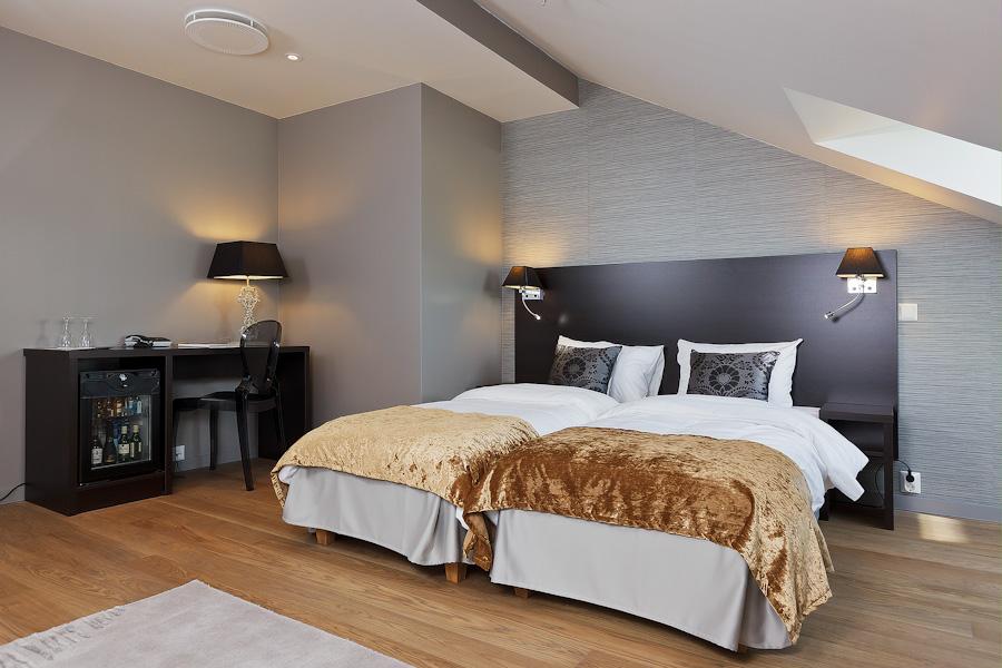 Hotel Saga on yksi Oslon harvoista ei-ketjuun kuuluvista hotelleista. © Hotel Saga