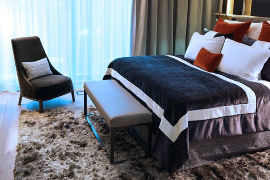 The Thief -luksushotellin sängyissä nukkuu ylellisesti. © The Thief