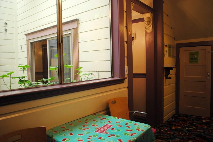 Green Tortoise Hostel.