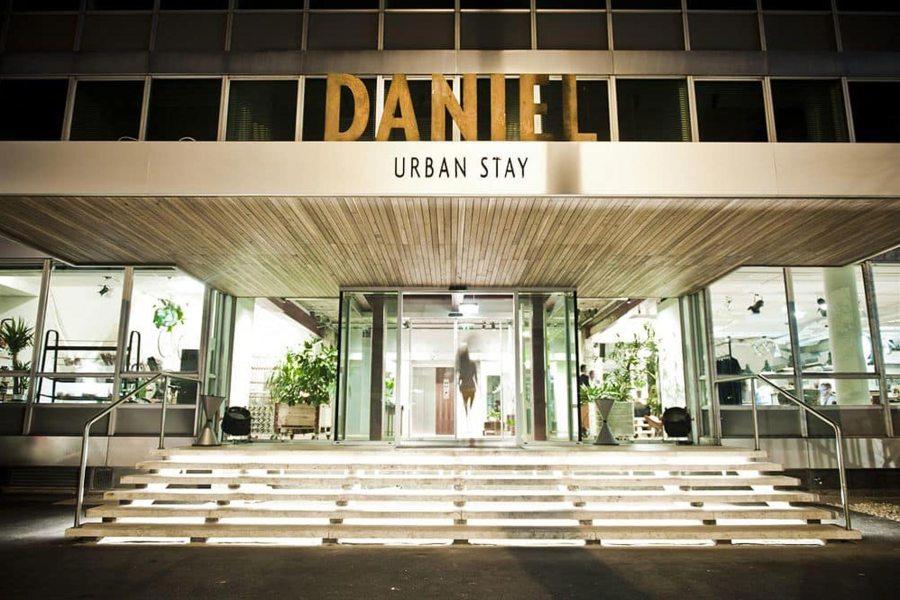 Trendikäs Daniel sijaitsee lähellä Belvederen palatsia. Kuva: Hotelli Daniel.