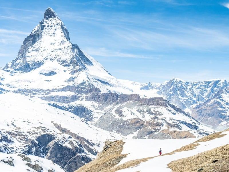 The majestic Matterhorn mountain