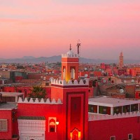 مدينة مراكش الحمراء