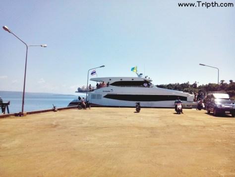 การเดินทางไปเกาะหมาก เรือไปเกาะหมาก บุญสิริเฟอร์รี่ (28)