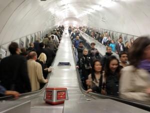 London Underground - Stairs
