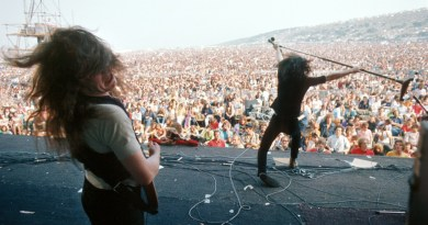 A new exhibition is celebrating 50 years since the 1970 Isle of Wight Festival