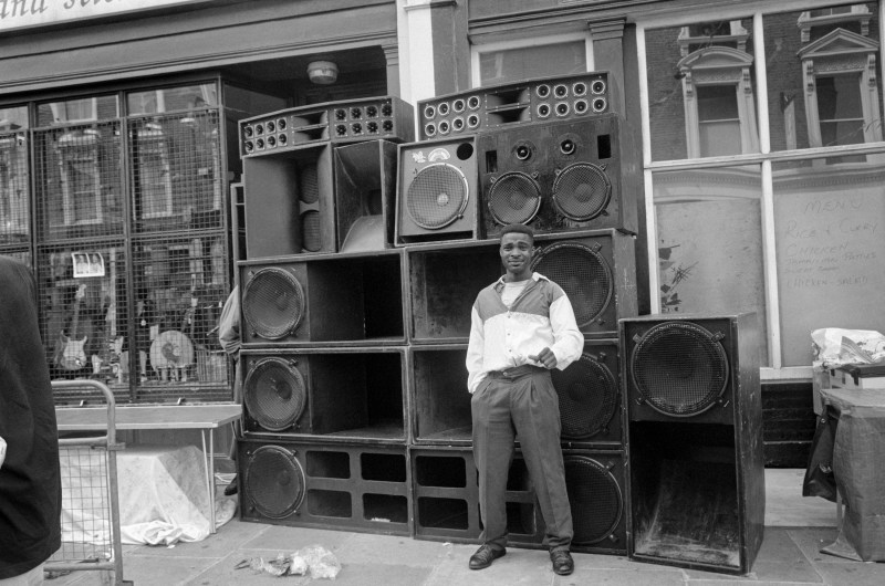 Notting Hill Carnival, All Saints Road, 21 August 1994. Notting