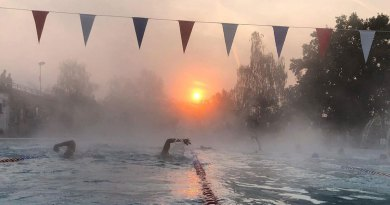 Midnight swims at Hampton Pool are back on the menu