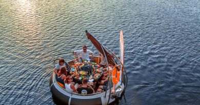 That floating BBQ Boat is back for summer