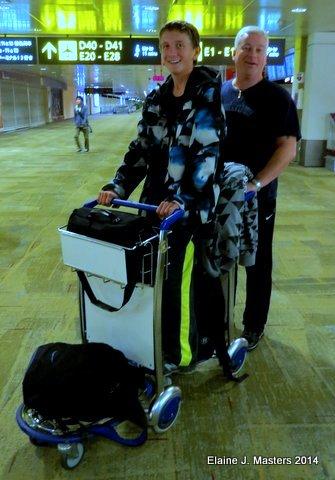 Changi airport, travel packing tips