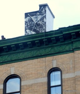 rooftop mural water tower, trip wellness, walking tours in new york