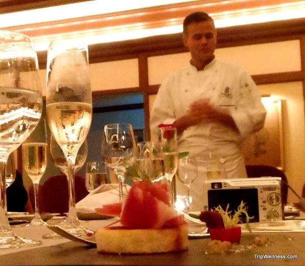 Club Grill, Ritz Carlton Cancun, trip wellness