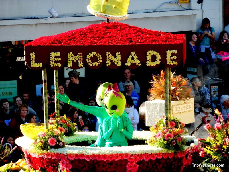 alien parade float, trip wellness