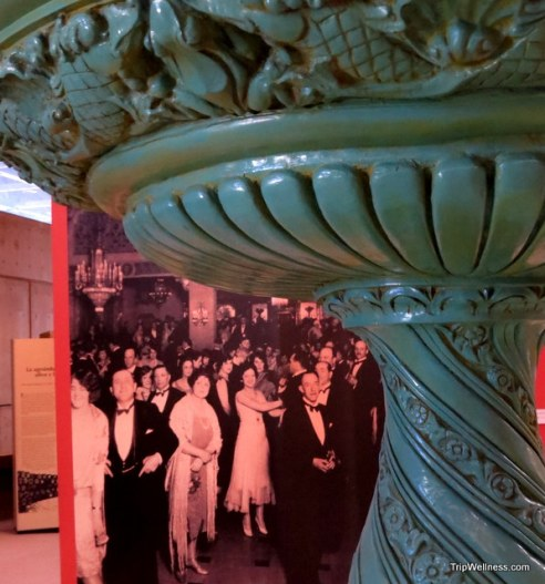 Fountain from the original Agua Caliente Casino. Day trip Tijuana. Trip Wellness