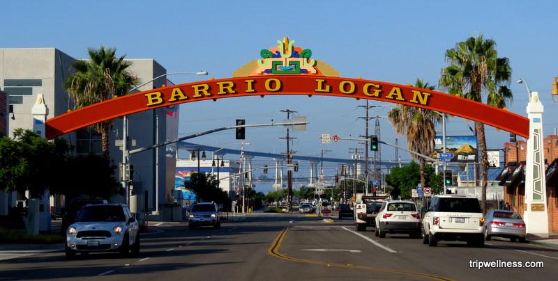 Barrio Logan Sign