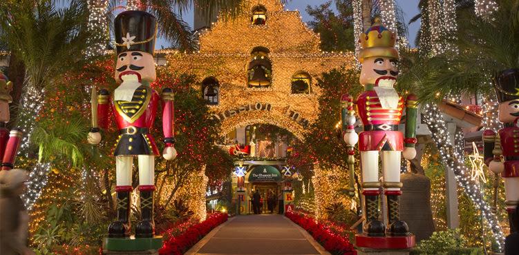 Mission Inn Holiday Lights
