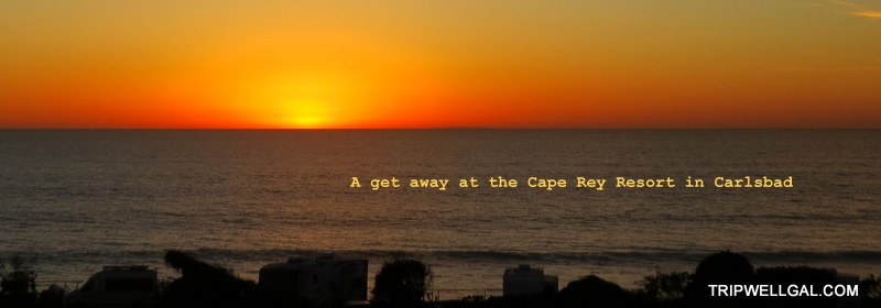cape rey beach sunset is perfect for a get away