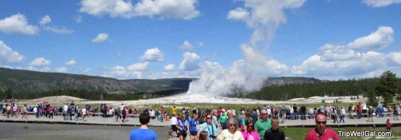 Yellowstone Park holds many natural wonders, like Old Faithful