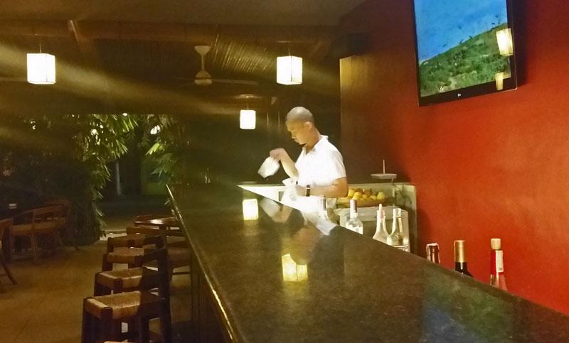 La Terrasse cocktails underway in Puerto Princesa