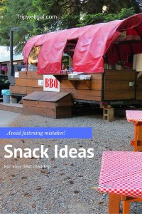 BBQ road trip snack ideas